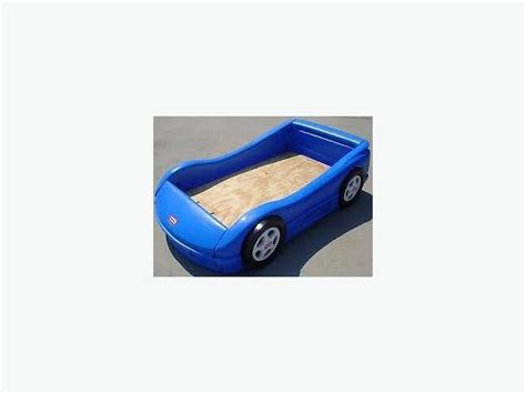 Size Cer Mattress tikes car bed crib size in blue inc mattress west