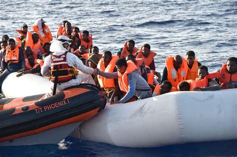 refugee migrant rescue boat 239 migrants drown in mediterranean off libya coast time