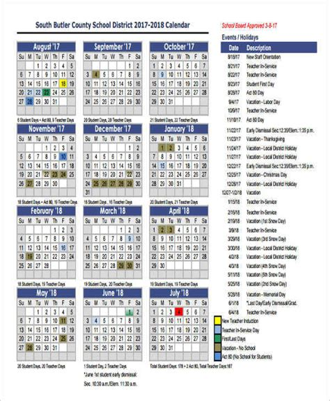 annual event calendar template 8 event calendar sles templates in pdf