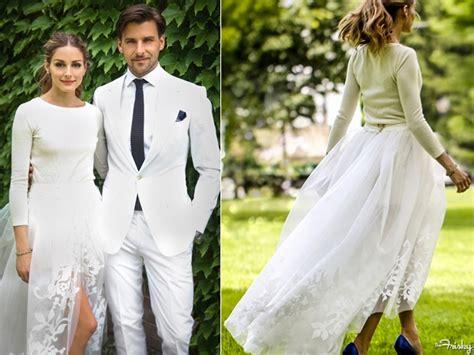hochzeitskleid olivia palermo steal olivia palermo s wedding dress style