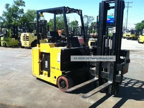 swing lift forklift drexel swing mast 2000 lb slt22 electric forklift lift truck