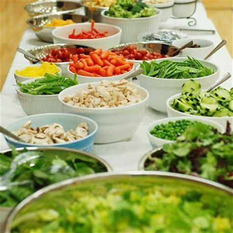 salad bar buffets pinterest