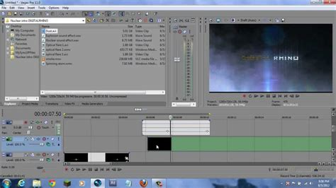 tutorial vegas pro 9 0 how to make a professional explosive intro in sony vegas