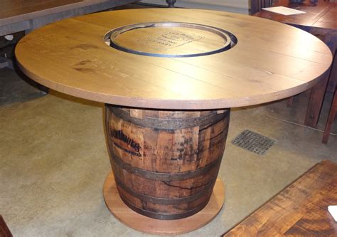 whiskey barrel tables 1000 images about barrel tables on wine