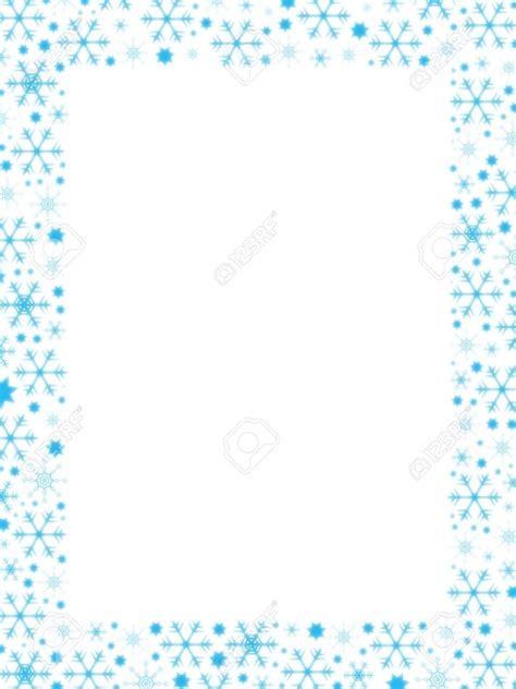 free letter templates with border free snowflake border templates svoboda2