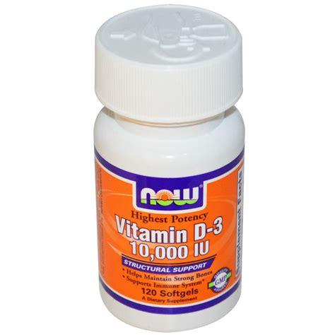 vitamin d l now foods vitamin d 3 10 000 iu 120 softgels iherb com
