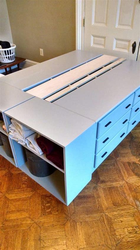 build  dresser platform bed  scratch diy