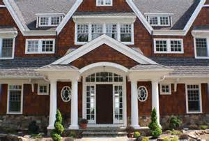 Shake siding trend philadelphia victorian exterior innovative designs