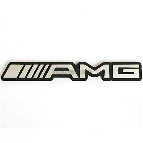 Emblem Alumunium Sticker Decals 3d Logo Amg Mercedes Ukuran Mini amg 3d mercedes car aluminum emblem badge decal ebay