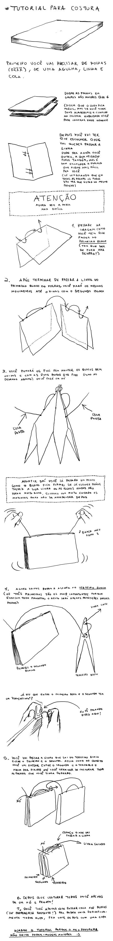 tutorial como fazer um sketchbook fewiip editora mesinha tutorial de como fazer