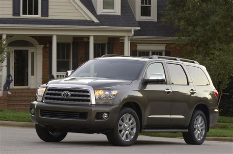 All Toyota Suvs La Auto Show Toyota Unveils The All New 2008 Sequoia Suv