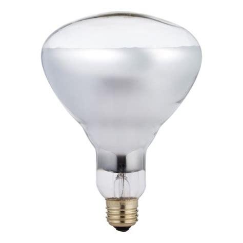 250 watt heat l fixture phillips 416743 heat l 250 watt br40 clear flood light