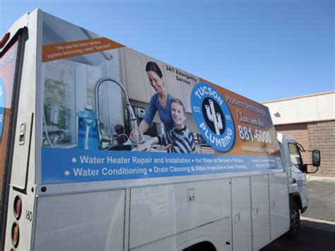 Plumbing Supply Tucson by Tucson Plumbing Truck 4 Innovative Signs Of Tucson