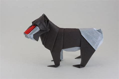 Origami Meerkat - the washi zoo lunch