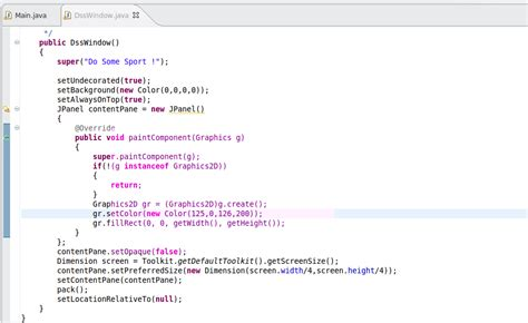 java swing window how to create transluent window in java swing