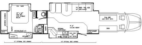 toterhome floor plans 2013 powerhouse motor coach truck cer photos autos post
