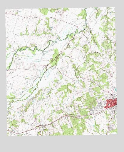 rockdale texas map rockdale west tx topographic map topoquest
