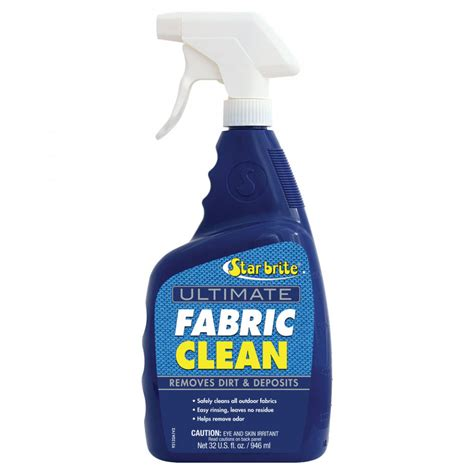 boat fabric cleaner starbrite fabric cleaner with ptef 946ml 34 95
