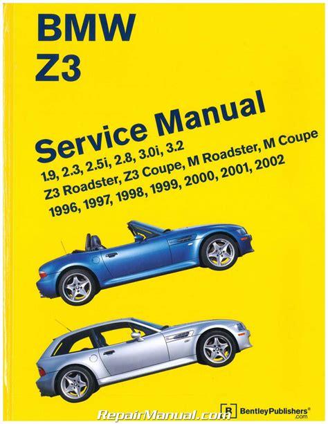 free service manuals online 1997 bmw z3 lane departure warning bmw z3 roadster printed service manual 1996 2002