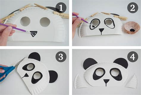 How To Make Mask Out Of Paper - 4 zoo themed crafts for and 1 for