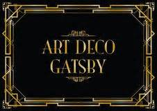 More similar stock images of art deco great gatsby background
