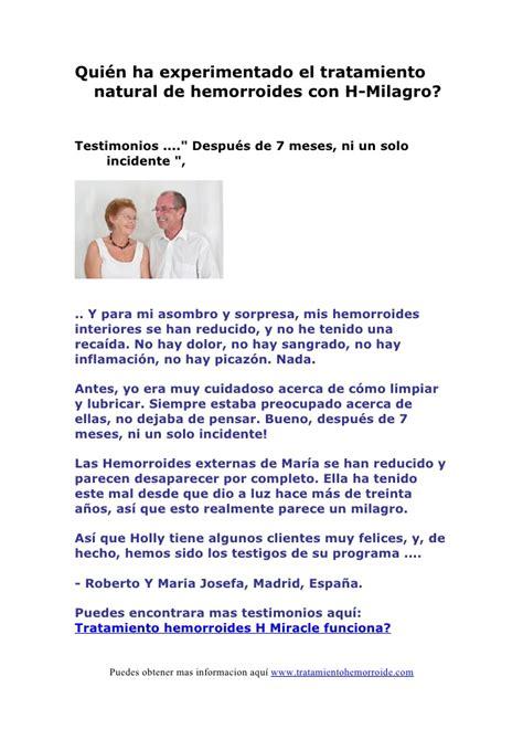 tratamiento hemorroides externas tratamiento hemorroides