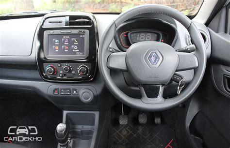 kwid renault interior renault kwid drive review cardekho com