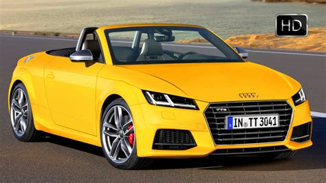 Audi Tt Cabrio Test by 2016 Audi Tt Roadster Convertible Quattro Test Drive Hd