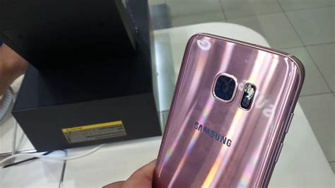 samsung s7 warna pink gold limited edition