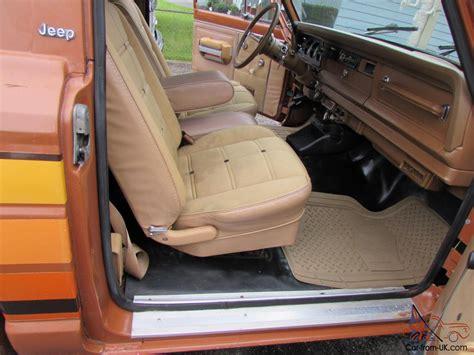 jeep honcho interior jeep other honcho j10