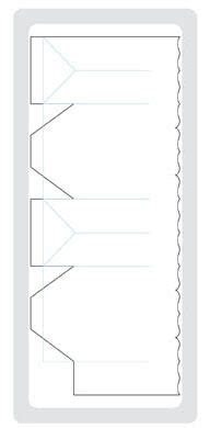 templates for fancy boxes toblerone shaped box template class resources