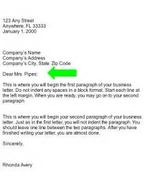 Business Letter Salutation Woman collection salutation business letter part of business letter