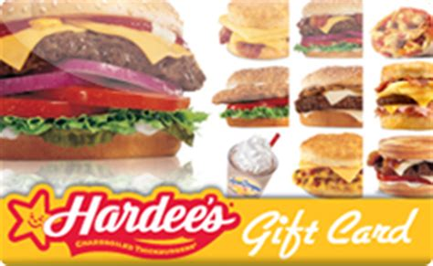 Hardee S Gift Card Balance - buy hardee s gift cards raise