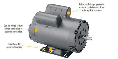 leeson air compressor electric motor  hp model
