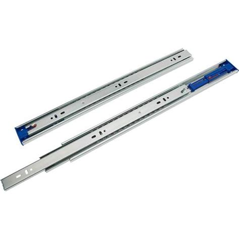 18 quot push to open bearing drawer slide grizzly