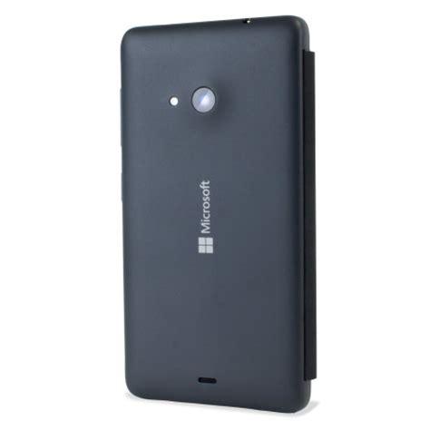 Flip Cover Microsoft Lumia 535 official microsoft lumia 535 flip shell black