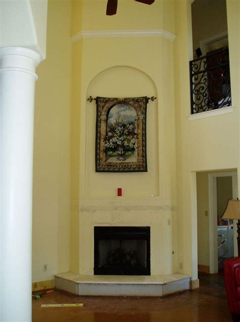 Installing Fireplace Surround by How To Install Granite Fireplace Surround Fireplace Designs