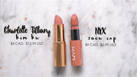 Lipstik Nyx Kw nyx snow cap dupe for tilbury k w make