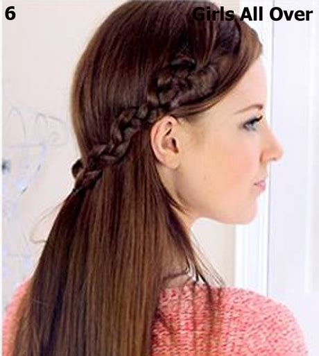 simple hairstyles at home for long hair here style