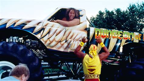 what happened to bigfoot truck where are they now the hulkster and dungeon of doom