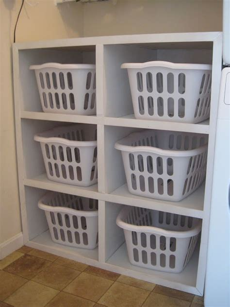 Laundry Room Basket Storage 25 Best Ideas About Laundry Basket Storage On Pinterest Laundry Basket Shelves Stackable