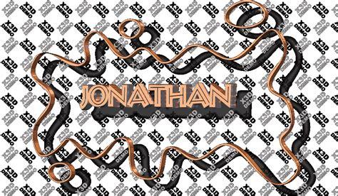 imagenes que digan jonathan nombre jonathan en graffiti 3d imagui