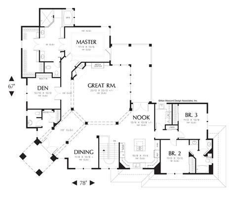 corner lot floor plans contemporary house plan 1401 the tarbell 4036 sqft 4 beds 3 1 baths