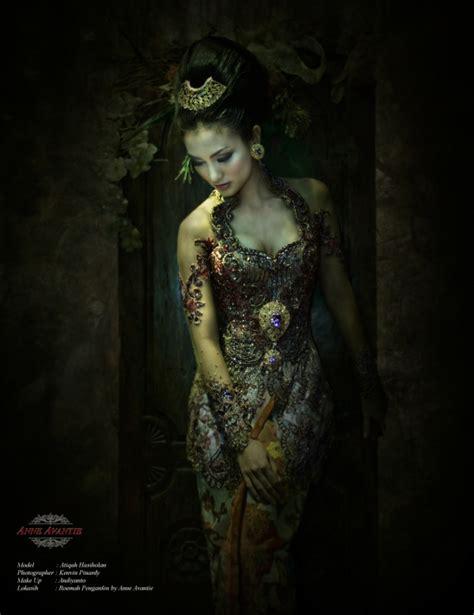 desain dress batik anne avantie model dan desain gaun pesta batik model baju pinterest