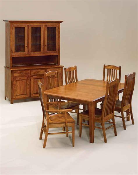 amish made diningroom sets