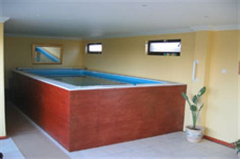 install a pool or swim spa indoors even basements