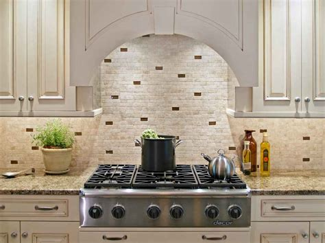 Backsplash Ideas For Kitchens | stone backsplash design feel the home