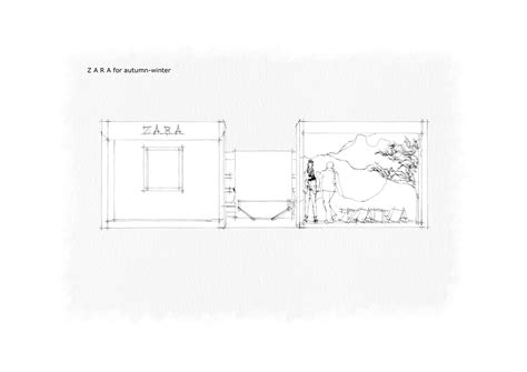 layout of zara marketing retail experience zara on behance