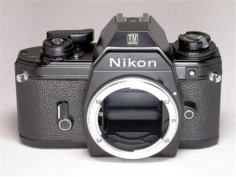 Kamera Nikon Em kamera und fotomuseum kurt tauber nikon em