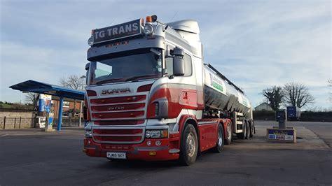 picture post tg trans scania  emyvale  wayne hedison truckanddrivercouk